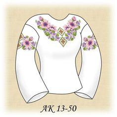 Заготовка к вышиванке женской Розовые Анемоны АК 13-50 Д