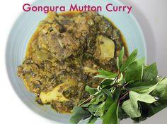 Gongura Mutton - Sorrel Leaves Lamb Curry by Telugu Taste Buds