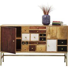 Buffet Panoptikum Kare Design - Taille : TU Kare Design, Catania, Buffet Design, Art Deco, Design Moderne, Sideboard, Liquor Cabinet, Storage, Furniture
