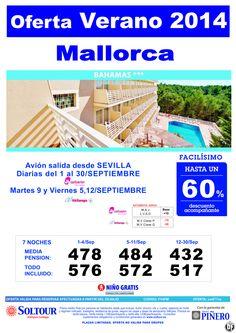 MALLORCA.Hasta 60% Hotel Bahamas salidas desde Sevilla ultimo minuto - http://zocotours.com/mallorca-hasta-60-hotel-bahamas-salidas-desde-sevilla-ultimo-minuto/