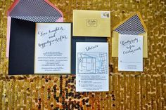 Our wedding invites - Lovely Life Styling Blog