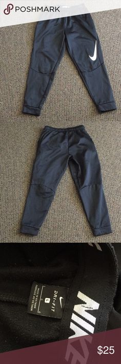 Nike Thermal Sweatpants Black Nike Thermal sweatpants. Size large and slightly worn. Nike Pants Sweatpants & Joggers