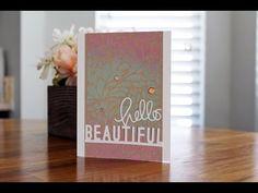 Got Joy Creations - by Dana Joy: Steciling with Distress Oxide Inks - Tutorial Tim Holtz Stamping Platform, Gelli Plate Printing, Distress Oxide Ink, Craft Tutorials, Craft Ideas, Hello Beautiful, Ink Art, Cardmaking, Stencils