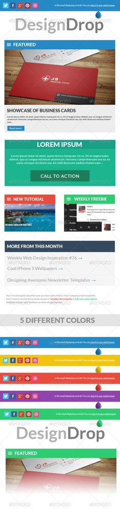 Sensation E-Newsletter Template Newsletter templates, Free - free business newsletter templates
