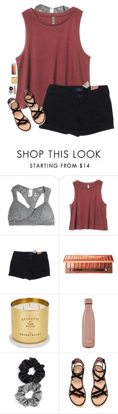 """""""#abby50k"""" by rileykleiin ❤ liked on Polyvore featuring American Eagle Outfitters, Urban Decay, Tom Dixon, S'well, Berry and abby50k"""