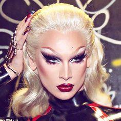 Drag Queen Makeup, Drag Makeup, Beauty Makeup, Drag Queens, Trinity Taylor, Bio Queen, Violet Chachki, Katya Zamolodchikova, Adore Delano
