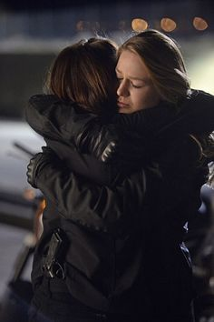 No thinking. Just hugging. #Supersisters #DanverSisters4Life