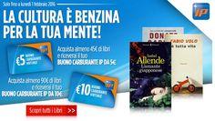 #Buoni #carburante Ip: #omaggio con acquisto #LaFeltrinelli