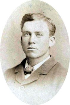 Almanzo Wilder......Married to Laura Ingalls Wilder. Zaldamo!! Who knew he was so cute??
