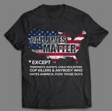 AMERICAN EXCEPT T-SHIRT