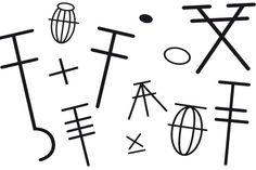 símbolos y abreviaturas para aprender a tejer ::: revista paula
