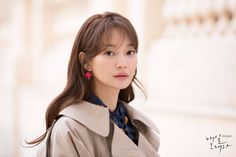 Tomorrow With You Shi Min Ah, Love Hair, My Hair, Tomorrow With You, Model Face, Elegant Hairstyles, Korean Celebrities, Korean Beauty, Twitter