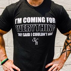 I'm coming for EVERYTHING they said I couldn't have. www.jekyllhydeapparel.com