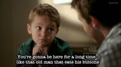 Logan is freakin' adorable.