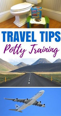 Traveling with a potty training toddler? Whether you're traveling by planes, trains, or automobiles, these tried and true tips for potty training during travel will improve your chances of success. [ad] #PottyTrainTogether