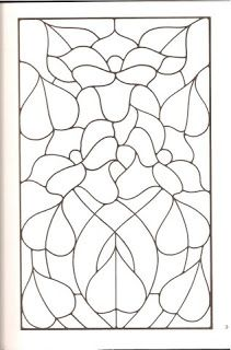 Riscos Para Bordar Stained Glass Patterns Stained Glass Flowers