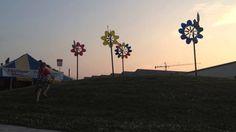 WindworkerStudio installation at La Fete de Marquette.