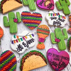 Taco 'bout a party! @caceyscakery