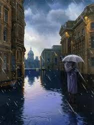 Картинки по запросу дождь в городе