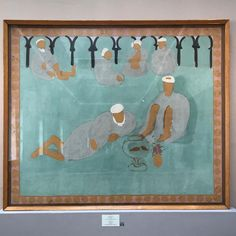 Henri Matisse, Arab Café, 1913, oil on canvas, 173x210cm, Hermitage #henrimatisse