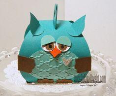 Saturday, October 11, 2014 INKin' All Night!: Owl Curvy Keepsake Box!