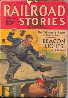 Railroad Stories January 1934