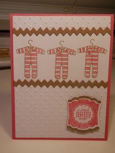 Cute & Easy baby card - SU