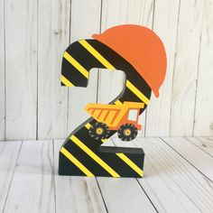 Construction Birthday Party Dump Truck Construction Party Theme Construction Party construction signs First birthday decor Age number Birthday Party Places, 2nd Birthday Parties, Boy Birthday, Birthday Ideas, Birthday Banners, Birthday Invitations, Birthday Gifts, Happy Birthday, Construction Signs