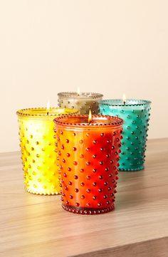 Polka Dot Candles!