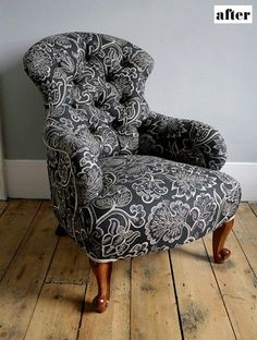 chair reupholstery inspiration