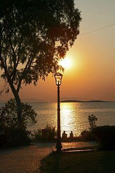 Sunset in Vouliagmeni