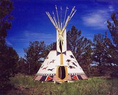 Love, love love Teepees, ours isn't quite this cool.