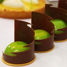 Frank Haasnoot - Matcha mousse, Citrus compote, Pate sable