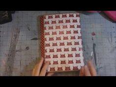 Scrapbook Folio style 2 - Teresa Collins: Hello my name is - by Shandra, Super Happy Scrapper. Tutorial.
