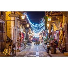 LEBANON, BYBLOS, A NICE VIEW OF THE SOUK