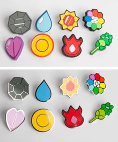 Oh my gosh. If I got a gym badge every time I achieved a goal in life.. I'd be so motivated all the time!!