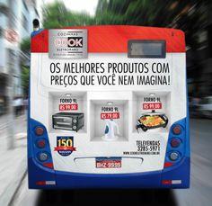 Back Bus Total Adesivado vinil Fosco 3x2m
