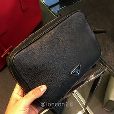 PLACE YOUR ORDER NOW!!We are heading to Bicester Village on Friday 17th February 2017. Prada Men's Clutch RM2,650 ❤❤❤it?  WhatsApp me on +44 7535 715 239 for orders now.  Once it's gone, it's gone!  See even more #L2KLbv #L2KLbv #L2KLbv