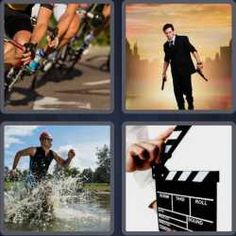 Answers and cheats of the popular game 4 pics 1 word 4 letters 4 pics 1 word 6 letters action expocarfo Gallery