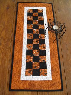 Halloween Table Runner. $30.00, via Etsy.