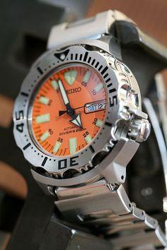 Seiko Orange Monster: The WIS Watch
