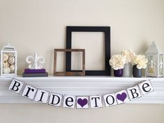 Bridal Shower Decorations - Bride To Be Signs - Bridal Shower Banners - Bachelorette Party - Weddings
