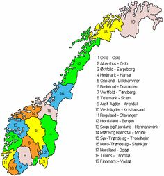 Oppland & More og Romsdal places where all my ancestors originated ( AND my mama)