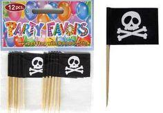 Pirate Food flag picks