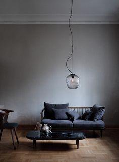 &tradition Blown Lamp SW3 Silver - Lunehjem.no - interiør på nett
