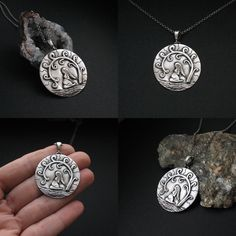 Here and now - The pregnancy time - pendant by Anna Fidecka Fiann  #jewelry #talisman #handmade #silver #pregnancy #woman #ooak #pregnantwoman