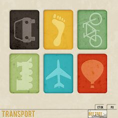 Free Transport Journal Cards | Bee Tree Studios
