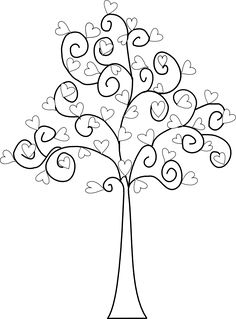 Beyond the Fringe: Free Valentine Digital Stamps Colouring Pages, Adult Coloring Pages, Coloring Books, Hand Embroidery Patterns, Machine Embroidery Designs, Ribbon Embroidery, Doodle Drawings, Doodle Art, Arte Quilling