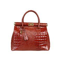 Geanta dama Made in Italia Brescia maro Pattern, How To Make, Bags, Fashion, Italia, Handbags, Moda, Fashion Styles, Patterns