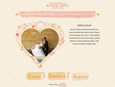 wedding jojo. wedding website thats customizable